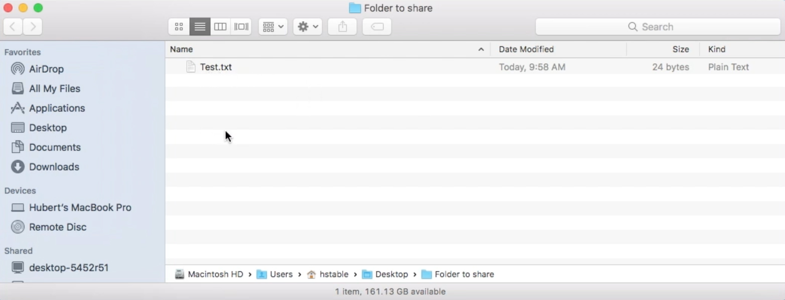 How to share files & folders on VirtualBox (Mac/Windows) - Hubert Stable